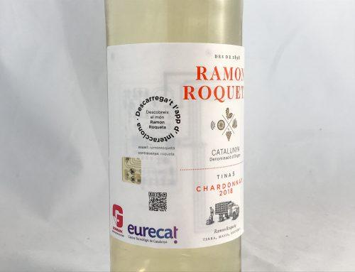 El vino Ramon Roqueta Chardonnay incorporará las primeras etiquetas inteligentes en vino