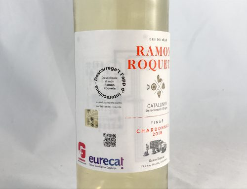 Ramon Roqueta Chardonnay is the first wine to incorporate intelligent labels